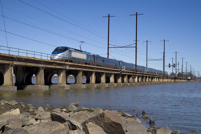 Southbound Acela Express