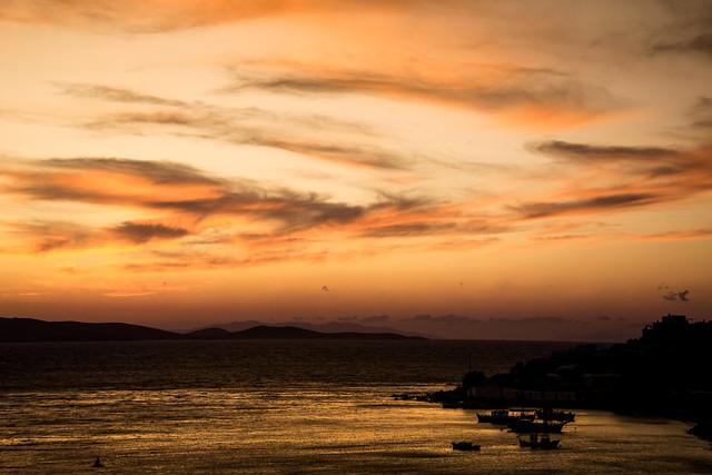 Crépuscule - Grèce