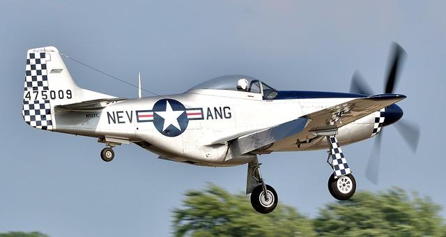 North American P51D Mustang Rosalie 44-75009 USAAF N51TC 475009 NEV ANG