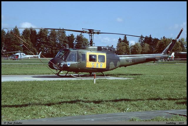 UH1 D 70+85 8145 LTG61 Landsberg septembre 2007