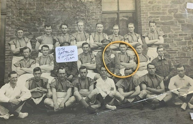 10th Battalion AIF Football Team in Adelaide, S.A. - July 1919