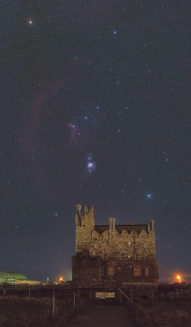 Bremore Castle Balbriggan and Orion
