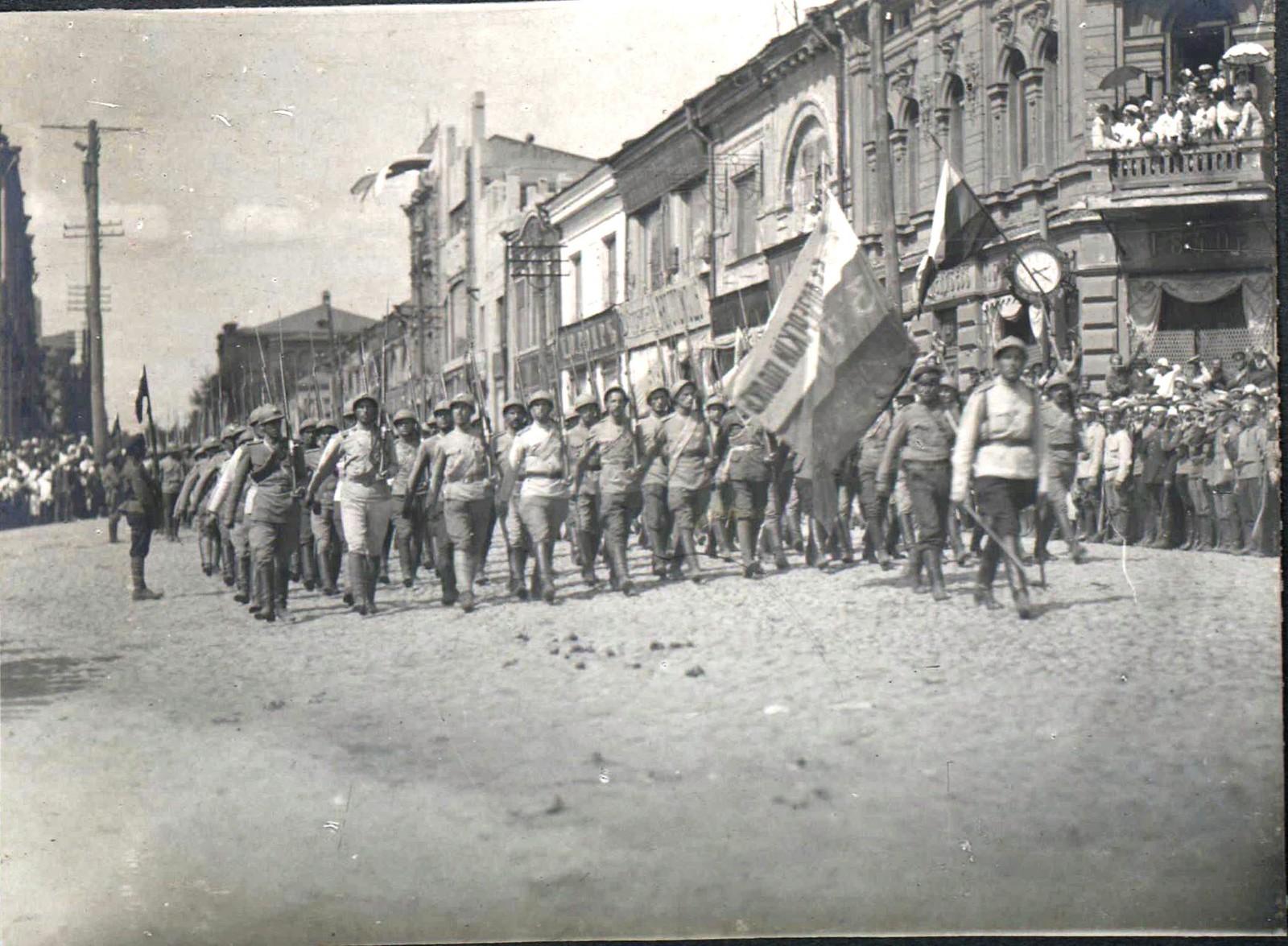 159. 1919. Чествование генерала Кутепова в Харькове