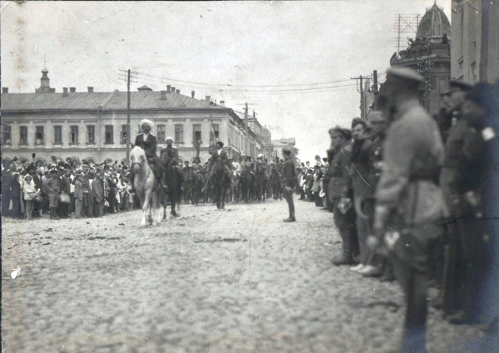 156. 1919. Чествование генерала Кутепова в Харькове
