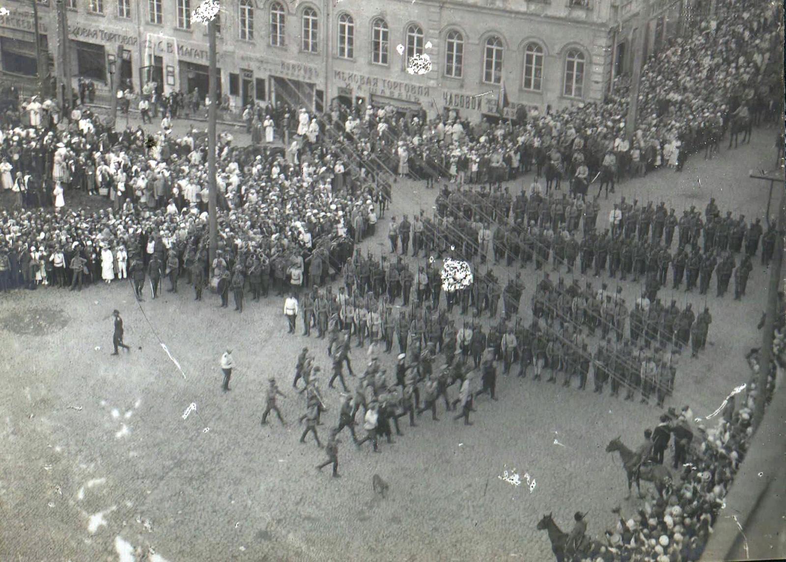 144. 1919. Панихида по павшим воинам в Харькове, июнь