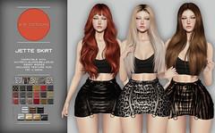 KiB Designs - Jette Skirt @The Darkness Event