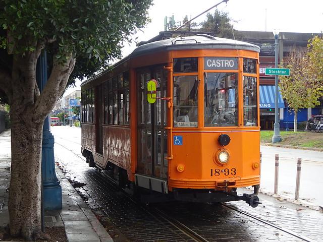 San Francisco: Muni Streetcar 1893