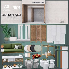 Atelier Burgundy + Pitaya . Urban Spa Gacha Key