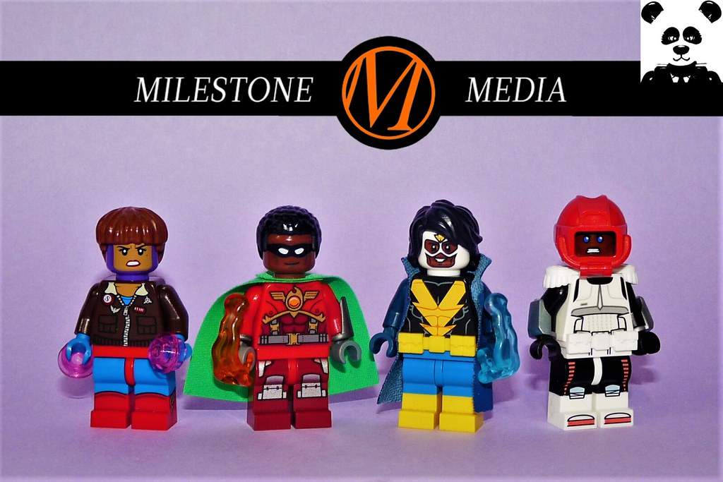 Milestone Media [DC Comics Minifigs #19]