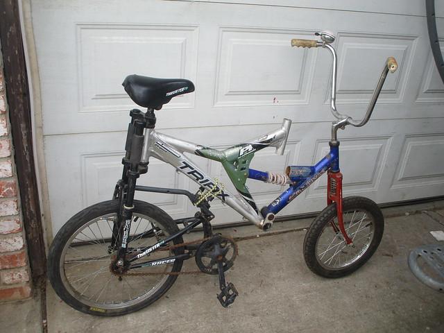 Swing bike donk