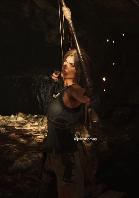 You get an arrow