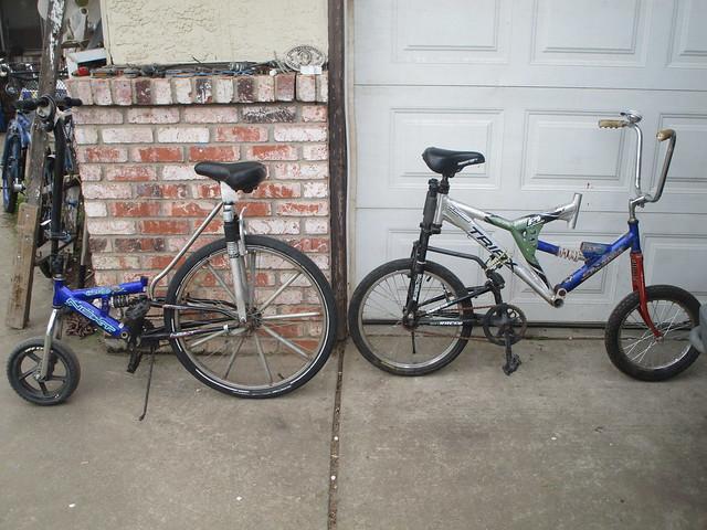 A Pair of Donkey Bikes