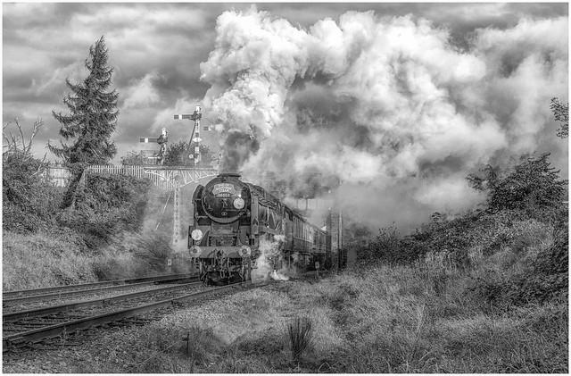 Smoke and Steam - B/W Version