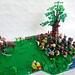 Battle of Greenfields - Shire militia