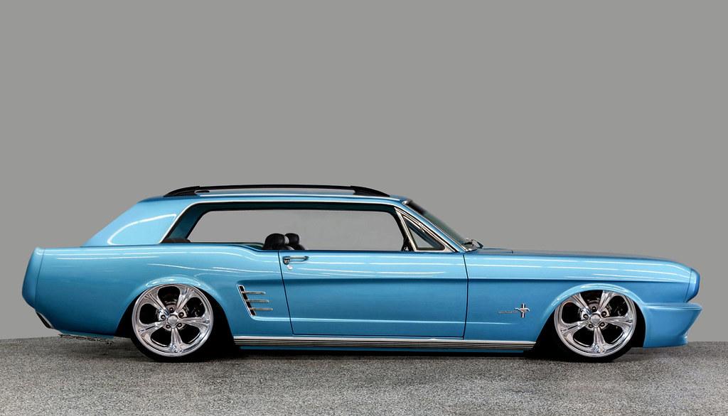 66'Ford Mustang Brake