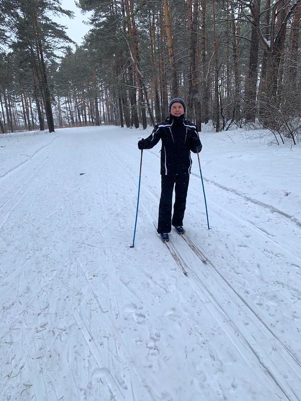 Прокопьевск - Зенково - Санаторий Шахтер - Трасса для беговых лыж в лесу