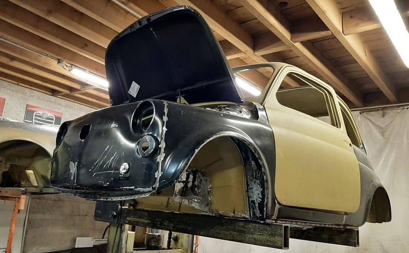 Restauration d'une FIAT 500 Les Ateliers Nielman Racing  51000300038_d7027548e0_c