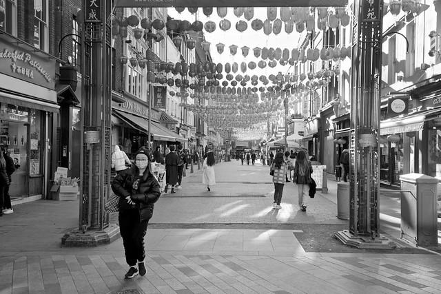 Gerrard Street, London Chinatown