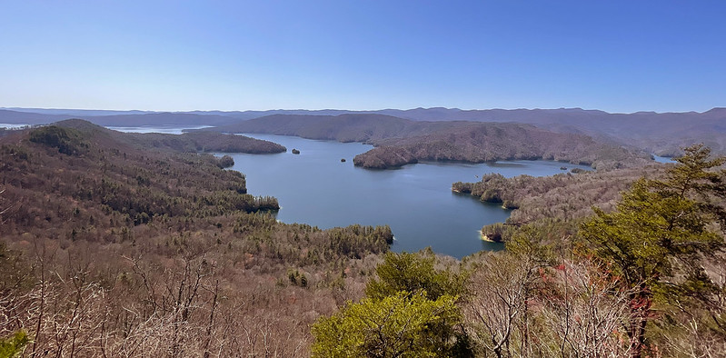 Jumping Off Rock Overlook - Lake Jocassee, Pickens County, SC
