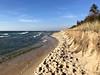 Erosion along Lake Michigan