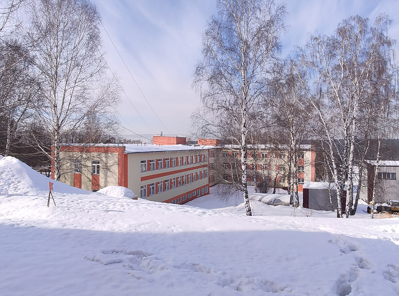 Прокопьевск - Зенково - Санаторий Шахтер - Старые корпуса