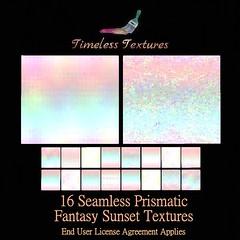 TT 16 Seamless Prismatic Fantasy Sunset Timeless Textures