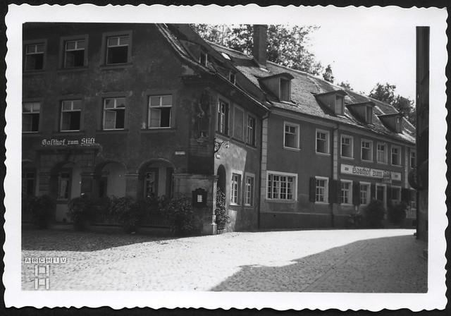 ArchivTappen2AAl2f979 Mein Quartier, Gasthof zum Stift Lindau, Oktober 1940