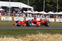 Ferrari F2004 3.0-litre V10 2004, Michael Schumacher at 50, Speed Kings, Motorsport's Record Breakers, Goodwood Festival of Speed (2)