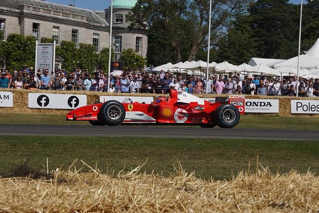 Ferrari F2004 3.0-litre V10 2004, Michael Schumacher at 50, Speed Kings, Motorsport's Record Breakers, Goodwood Festival of Speed