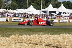 Ferrari 412 T2 3.0-litre V12 1995, Michael Schumacher at 50, Speed Kings, Motorsport's Record Breakers, Goodwood Festival of Speed