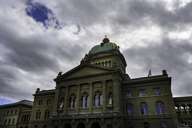 Federal Palace of Switzerland - Bern City - Switzerland