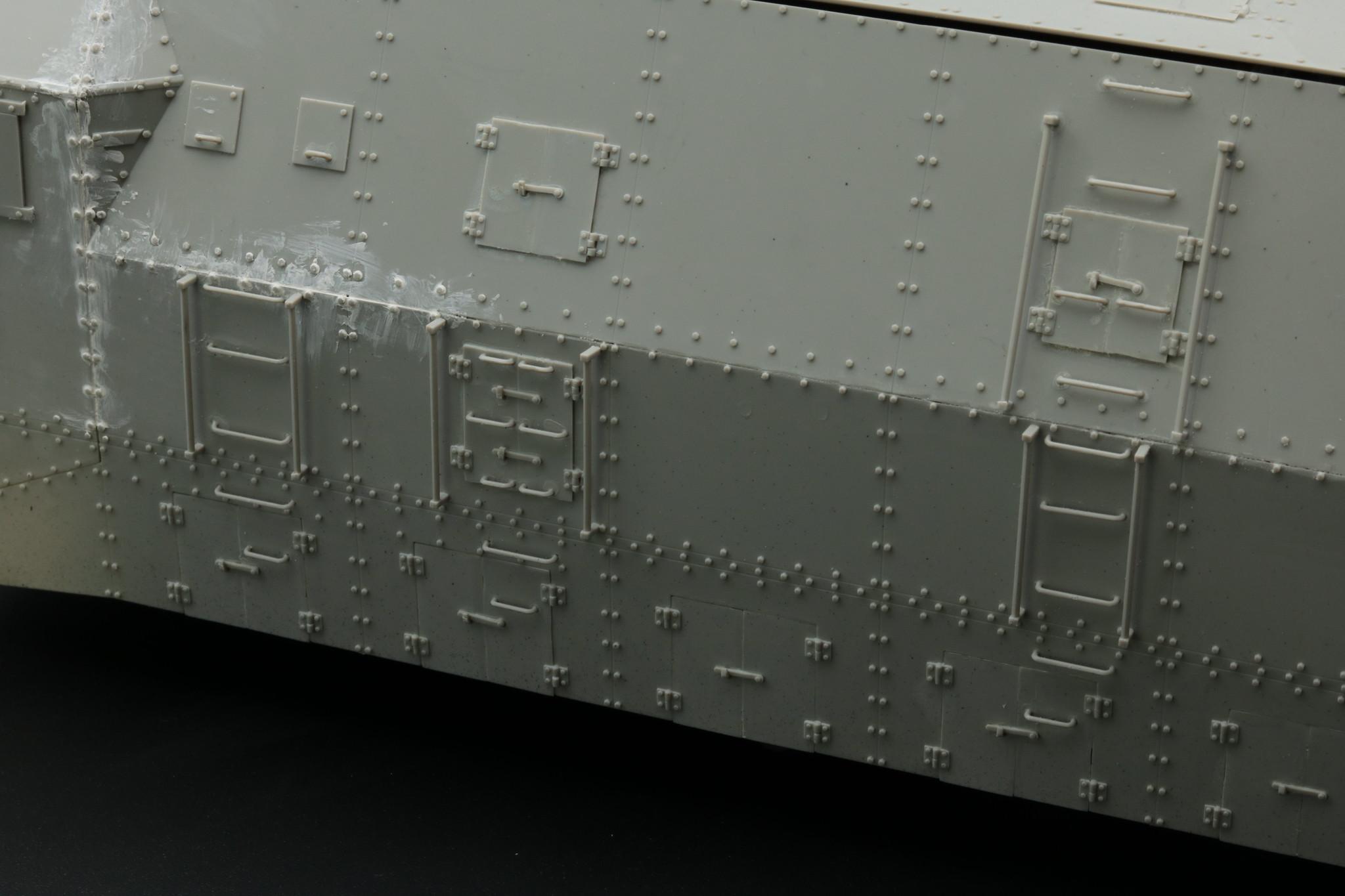 BP42 détails blindage