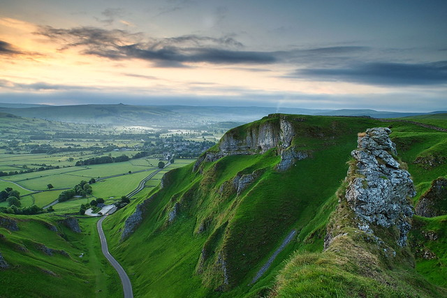 Winnats Pass Dawn