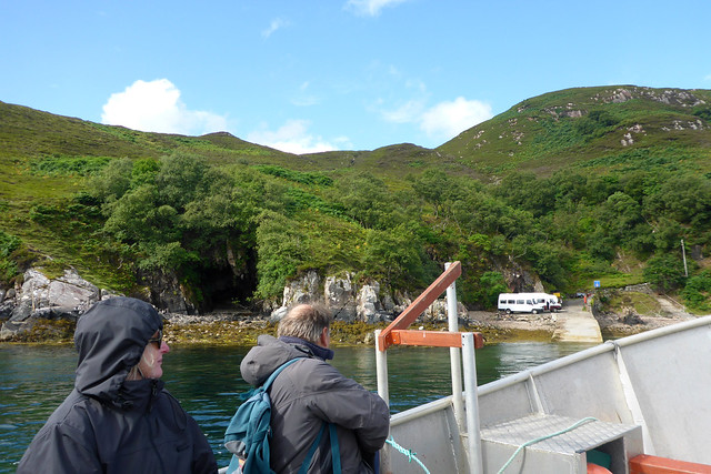 Aborad the Cape Wrath ferry