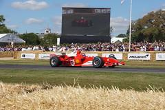Ferrari F2004 3.0-litre V10 2004, Michael Schumacher at Fifty, Speed Kings, Motorsport's Record Breakers, Goodwood Festival of Speed
