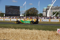 Benetton-Ford B192 3.5-litre V8 1992, Michael Schumacher at Fifty, Speed Kings, Motorsport's Record Breakers, Goodwood Festival of Speed