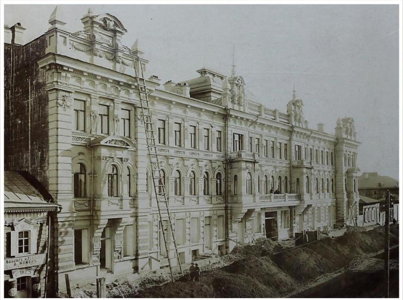 46. Дом архитектора Кузнецова на Арсенальской улице
