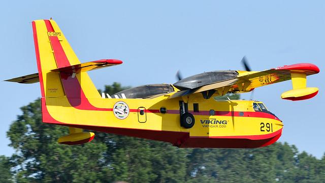 Canadair CL-215-1A10 C-GBPD  seaplane Viking 291