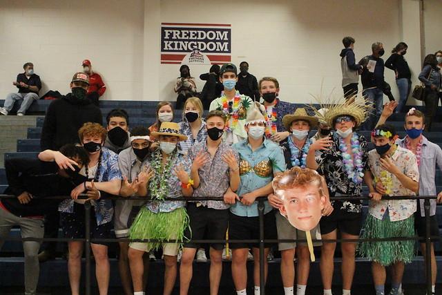 Truman Boys Basketball District Semis Win