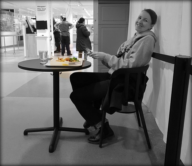 Lunch at IKEA.