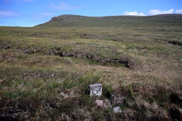 Cape Wrath mile marker