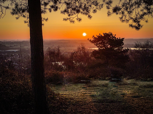 Lickey Hills sunrise