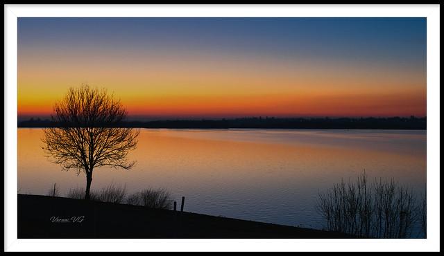 Draycote Water twilight