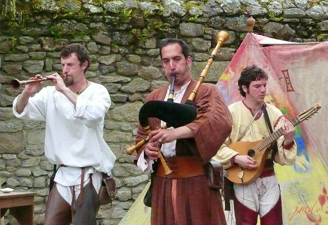 Rock Celte médiéval, fête médiévale Guérande, Bretagne (44)
