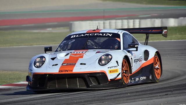 Porsche 911 GT3 R / Benjamin Goethe / GBR / Jordan Grogor / ZAF / Stuart Hall / GBR / GPX Racing