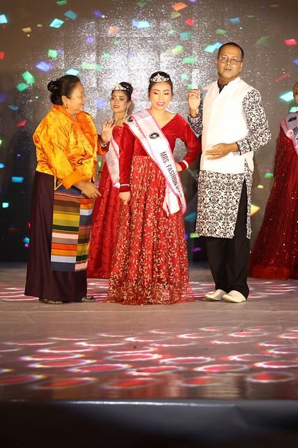 Prasantt Ghosh Crowning Mrs Sikkim 2021