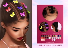 NEW RELEASE + GIVEAWAY - NYMPH HAIR + PONYTAIL @LEVEL