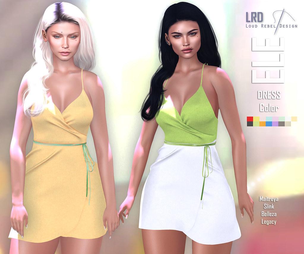 LRD Dress Ele color