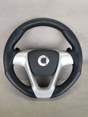 Smart ForTwo 451 leather sport steering wheel with paddle shift function