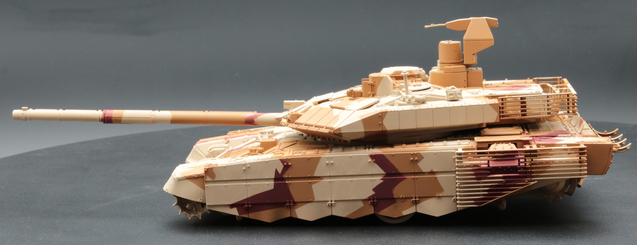 T-90 MS camouflage expo Russe 2013